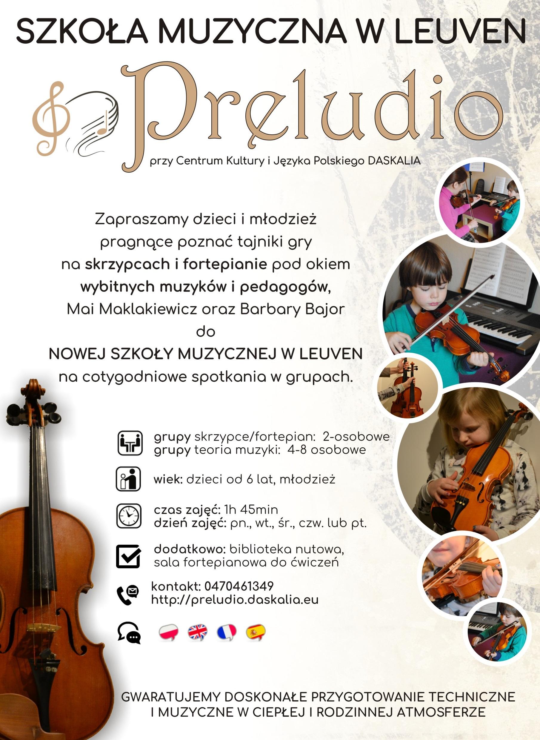 Szkoła Muzyczna Preludio w Leuven